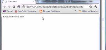 Beginner JavaScript Tutorial – 1 – Introduction to JavaScript