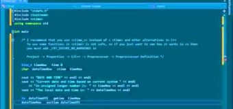 C++ Tutorial – 20. Standard Library – Ctime – Date and Time