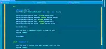 C++ Tutorial – 22. Writing and Reading Data to Binary Files