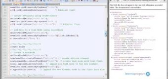 How to Add Nodes On XML3 JavaScript # Module 2 – Lesson 23
