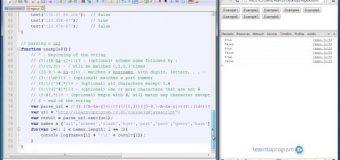 JavaScript Constructing Regular Expressions # Module 2 – Lesson 28
