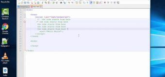 JavaScript tutorial 03:: Statements Comments program with example