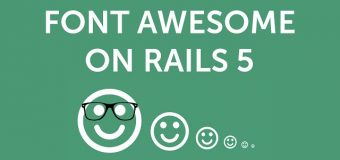 Let's Code – Adding Font Awesome to Ruby on Rails 5