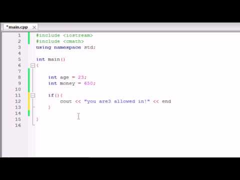 Buckys C++ Programming Tutorials – 26 – Logical Operators