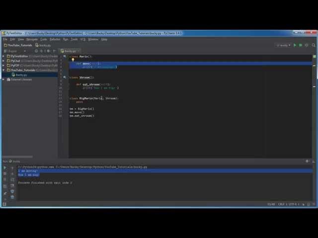 Python Programming Tutorial – 33 – Multiple Inheritance
