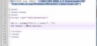 Beginner JavaScript Tutorial – 36 – Math Objects