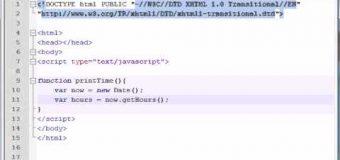 Beginner JavaScript Tutorial – 37 – Date Objects