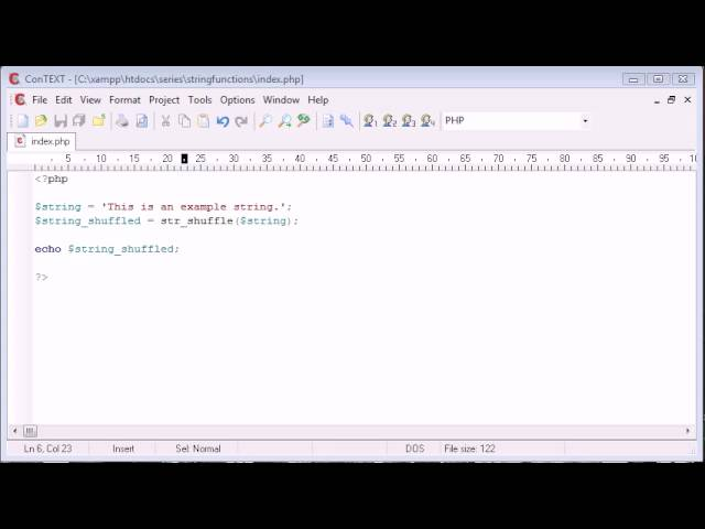 Beginner PHP Tutorial – 35 – String Functions Part 2