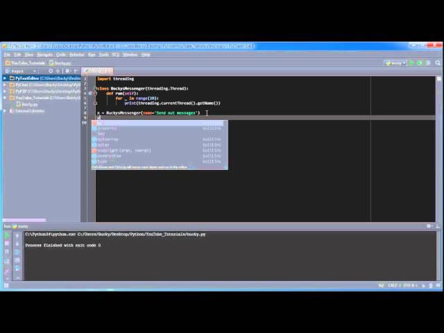 Python Programming Tutorial – 34 – threading