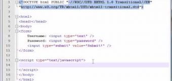 Beginner JavaScript Tutorial – 38 – Accessing Forms