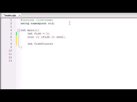 Buckys C++ Programming Tutorials – 38 – Introduction to Pointers
