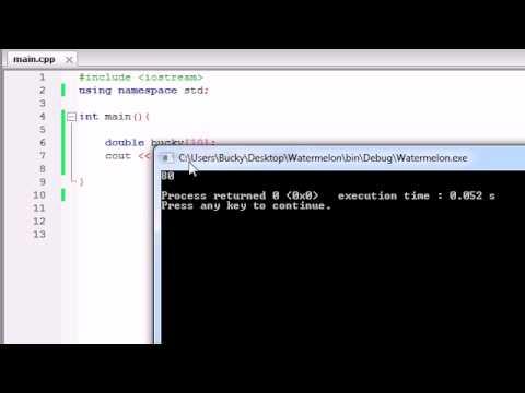 Buckys C++ Programming Tutorials – 40 – sizeof