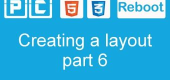 HTML5 and CSS3 beginners tutorial 39 – creating a website layout [part 6]
