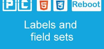 HTML5 and CSS3 beginners tutorial 50 – labels and fieldsets