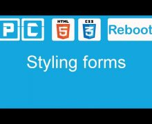HTML5 and CSS3 beginners tutorial 51 – styling forms