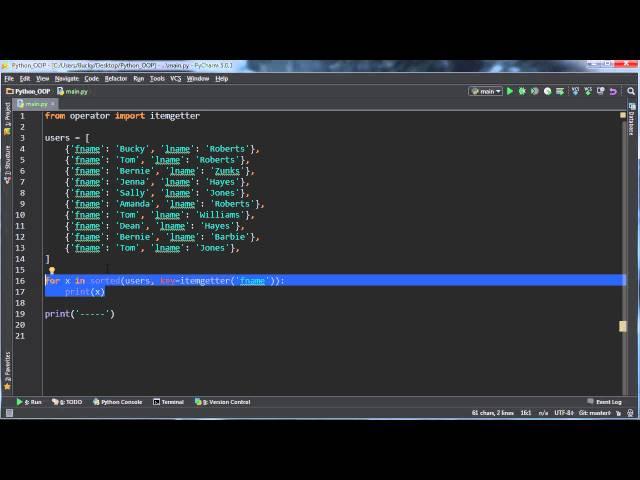 Python Programming Tutorial – 55 – Dictionary Multiple Key Sort