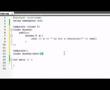 Buckys C++ Programming Tutorials – 61 – Template Specializations
