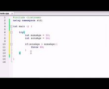 Buckys C++ Programming Tutorials – 62 – Exceptions