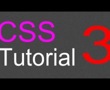 CSS Layout Tutorial – 03 – Adding header and navigation section