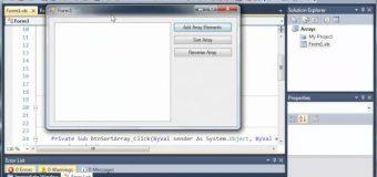 Visual Basic Tutorial – 61 – For Each Loop