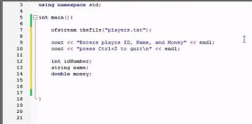 Buckys C++ Programming Tutorials – 66 – Writing Custom File Structures
