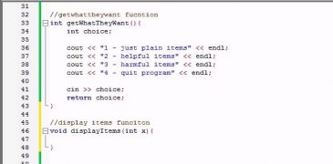 Buckys C++ Programming Tutorials – 69 – Finishing the Awesome Program