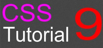 CSS Layout Tutorial – 09 – Adding the footer