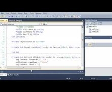Visual Basic Tutorial – 69 – More On Structures