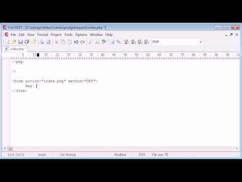 Beginner PHP Tutorial – 71 – Working with Form Data