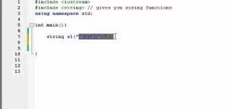 Buckys C++ Programming Tutorials – 71 – string Class and string Functions