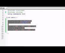 Buckys C++ Programming Tutorials – 72 – string substrings, swapping, and finding
