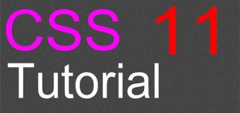 CSS Layout Tutorial – 11 – Navigation bar and buttons