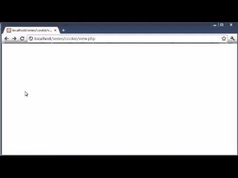 Beginner PHP Tutorial – 75 – Creating Cookies with PHP