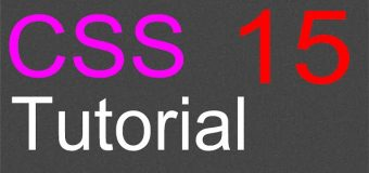 CSS Layout Tutorial – 15 – Source control