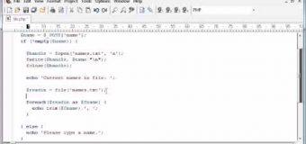 Beginner PHP Tutorial – 78 – File Handling: Reading a File