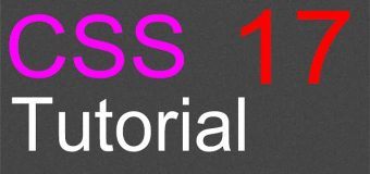 CSS Layout Tutorial – 17 – The Fixed Layout Part 2