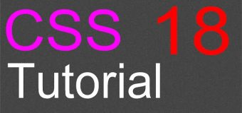 CSS Layout Tutorial – 18 – The Fixed Layout Part 3