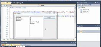 Visual Basic Tutorial – 76 – Preserve