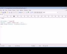 Beginner PHP Tutorial – 80 – The explode Function with File Handling Example