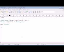 Beginner PHP Tutorial – 81 – The implode Function with File Handling Example
