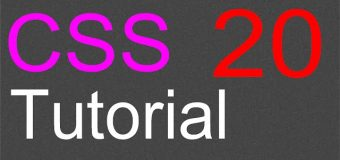 CSS Layout Tutorial – 20 – Media queries