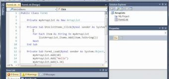 Visual Basic Tutorial – 81 – More On ArrayLists Part 2