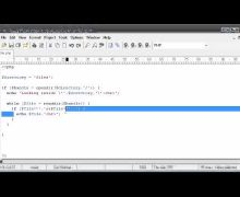 Beginner PHP Tutorial – 83 – File Handling: Listing Files Part 2