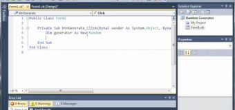 Visual Basic Tutorial – 89 – Random Number Generator