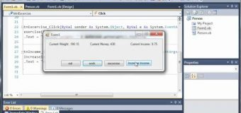 Visual Basic Tutorial – 93 – Person Part 2