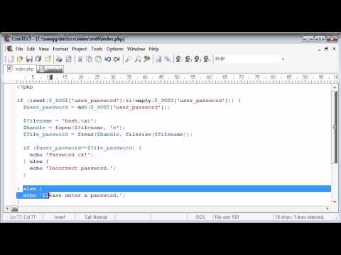 Beginner PHP Tutorial – 97 – MD5 Encryption Part 2