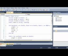 Visual Basic Tutorial – 97 – Constructors