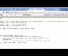 Beginner PHP Tutorial – 101 – Creating a Simple Contact Form Part 2