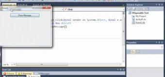 Visual Basic Tutorial – 101 – Using   End Using