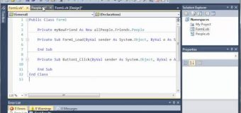 Visual Basic Tutorial – 104 – Nested Namespaces